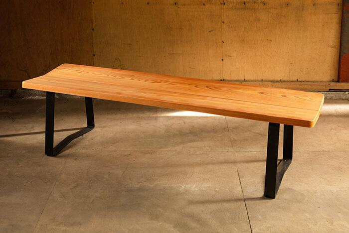 大岳キャビネット 木製ベンチ