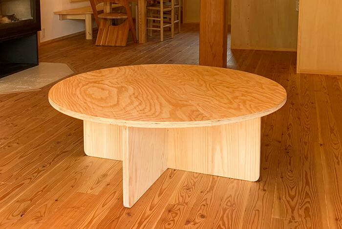 アカマツテーブル